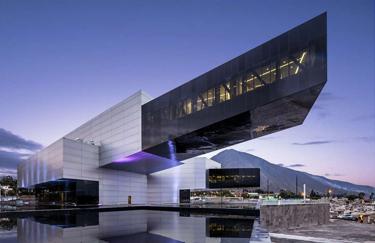 Formally, the new building is delimited by three virtual axes: the north-south axis, the projection of the proposal with La Mitad del Mundo City and the comb...