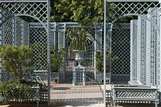 L'art du treillage - © Gardens, the Tuileries Gardens in 2010 / Jean-Pierre Delagarde