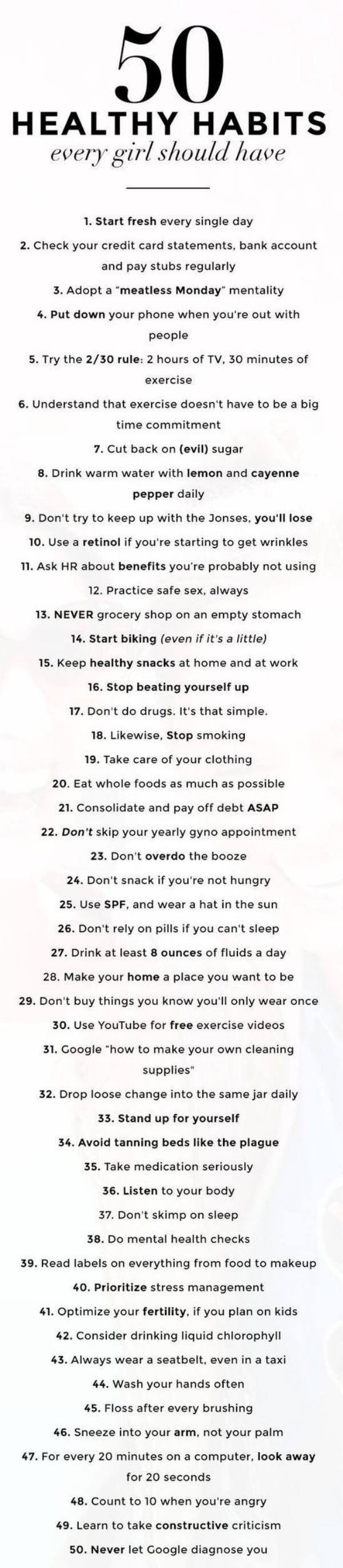 Tips for EVERY woman!