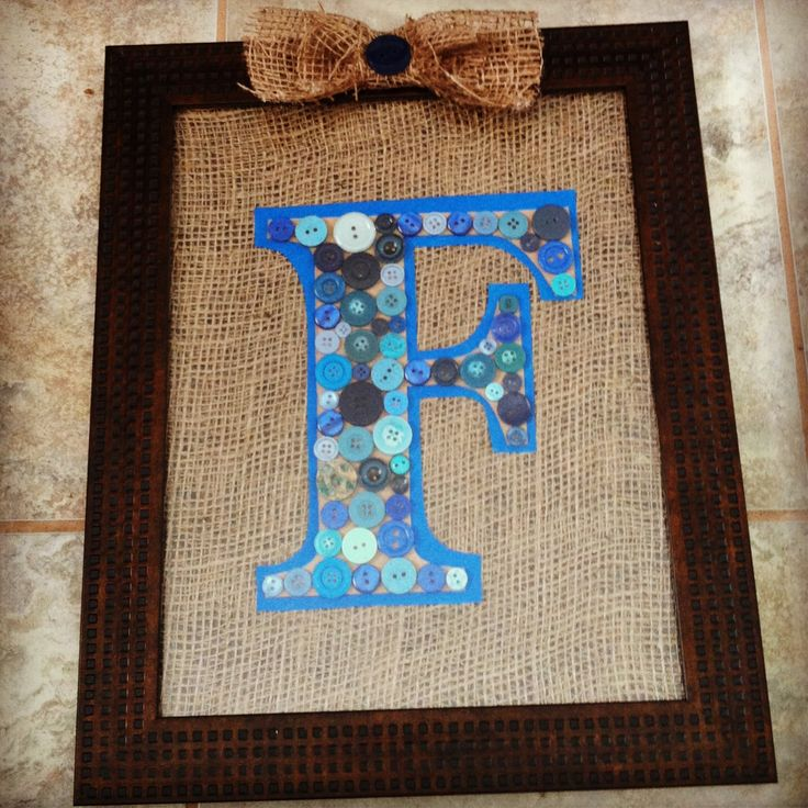High Quality Baby Shower Gift   Buttons, And Burlap!