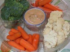 Dans les casseroles de GG: Ma trempette pour légumes préférée