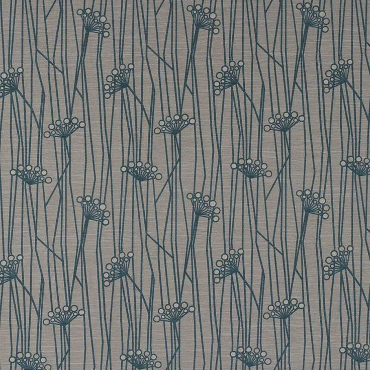 Warwick Fabrics : LAKE FLOWER