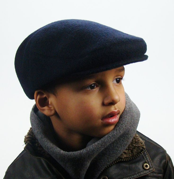 Navy Wool Men's Sixpence Jeff Hat -  Flat Jeff Cap, Ivy Cap, Driving Cap for Men, Women, and Children by Sookie on Etsy