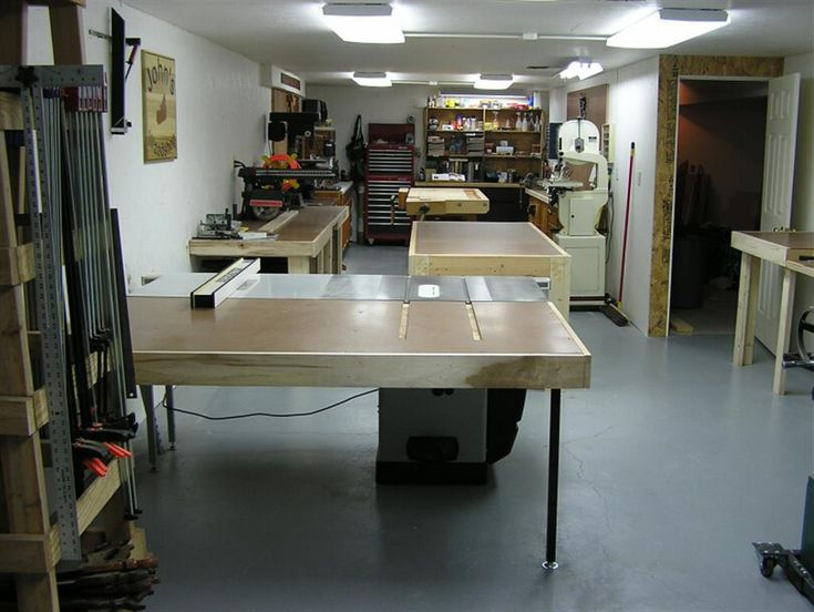 woodworking basement woodshop 3