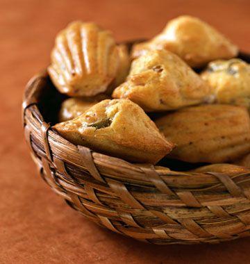 Madeleines aux olives et au jambon - les meilleures recettes de cuisine d'Ôdélices
