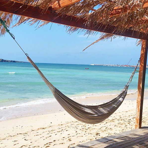 Great place to relax, Boa Vista, Cape Verde #Kaapverdie