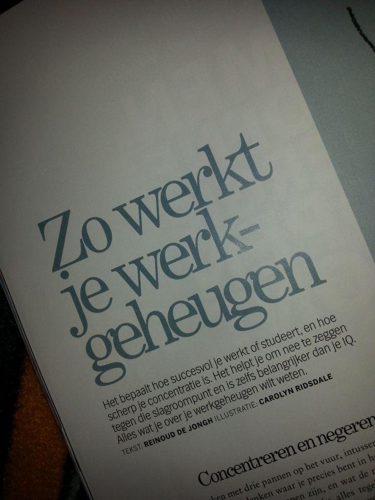 Zo werkt het werkgeheugen: artikel uit Psychologie Magazine