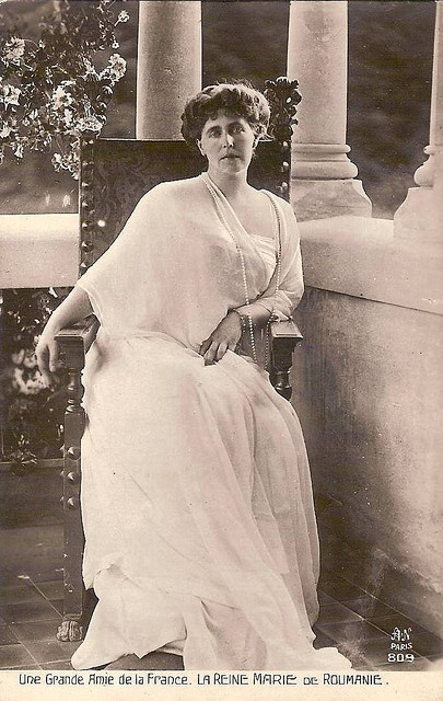 Königin Marie von Rumänien, Queen of Romania nee Princess of Edingburgh