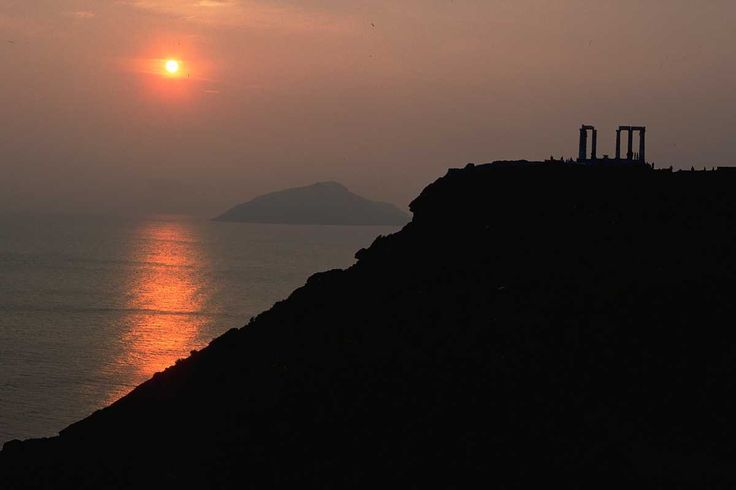 #Sunset at #CapeSounio! #Romance #KeyTours