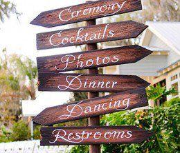 DIY Wedding Table Decoration Ideas | Wedding Signs | Click Pic for 20 Easy DIY Wedding Decorations
