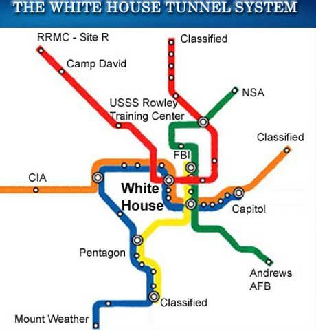 Information About The Expansion Of The White House Tunnel System And Construction Of The West Wing Underground Command Center