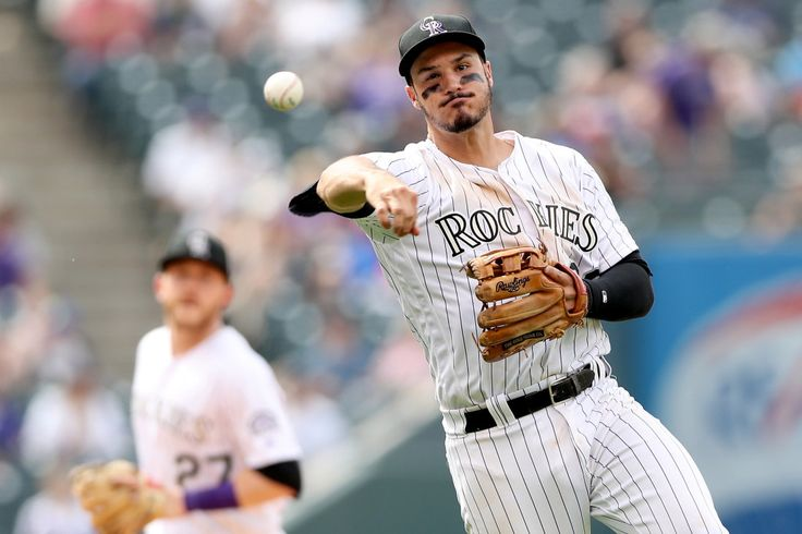 WATCH: Nolan Arenado stops grounder barehanded, throws out Giants batter
