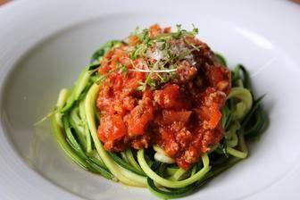 Cuketové špagety bolognese