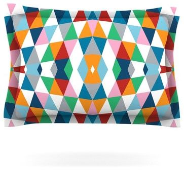 Project M Geometric Pillow Sham contemporary-pillowcases-and-shams