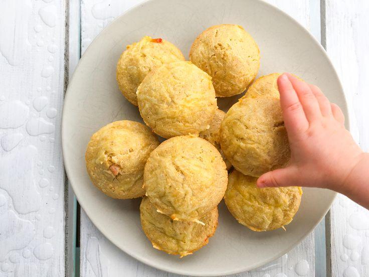 Deilige matmuffins - supert til nisteboksen. Passer fra ca 8 måneder.
