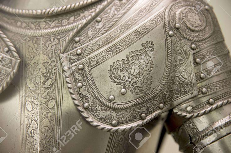 Detail Van Een Europese Middeleeuwse Harnassen Royalty-Vrije Foto, Plaatjes…