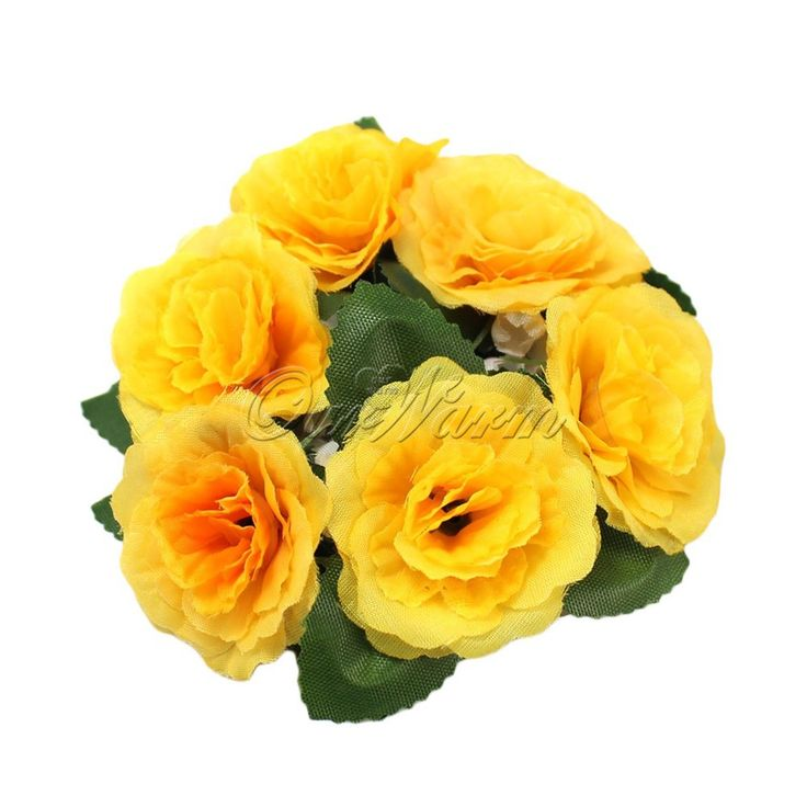 Много Цветов Цветочные Свечи Кольца Центральными Свадьбу Шелковые Розы Цветы Свечи Единства Партии Дома Ваза Украшения