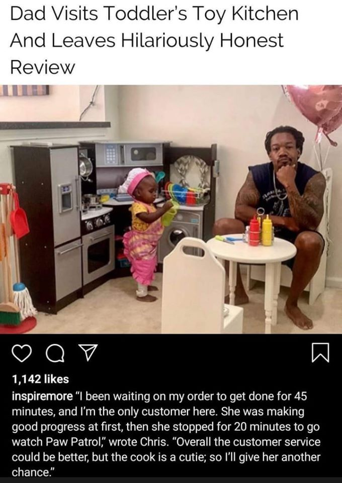 Dad S Kitchen Review In 2020 Best Memes Ever Just For Laughs Inspirational Memes