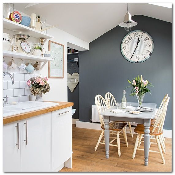 How to Make a Clock for Kitchen Interior and 60 Photo for Inspiration