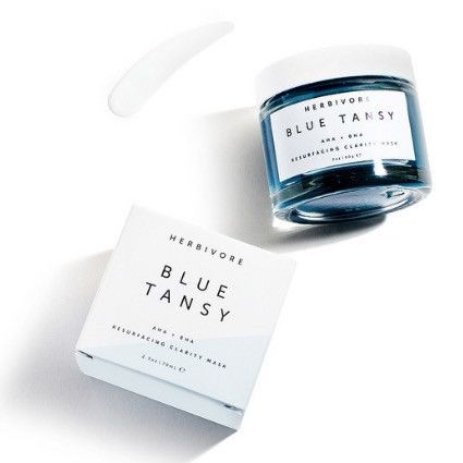 Herbivore Botanicals Blue Tansy RESURFACING Face Mask