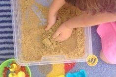 Kinetischer Sand - Wunderwerkstatt