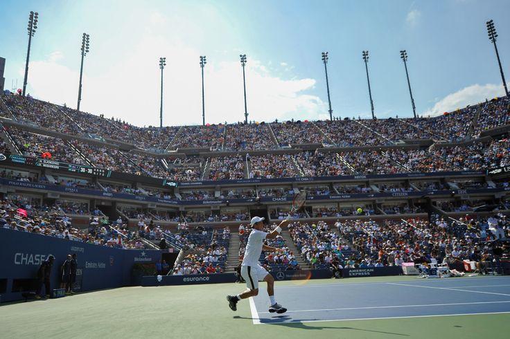 PHOTOS: Men's Semifinal: Djokovic vs. Nishikori