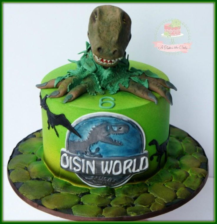 13 Best JURASSIC PARK Fondant Cake Images On Pinterest
