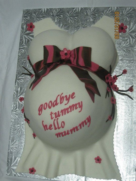 Baby Shower Idea ...the cutest cake!