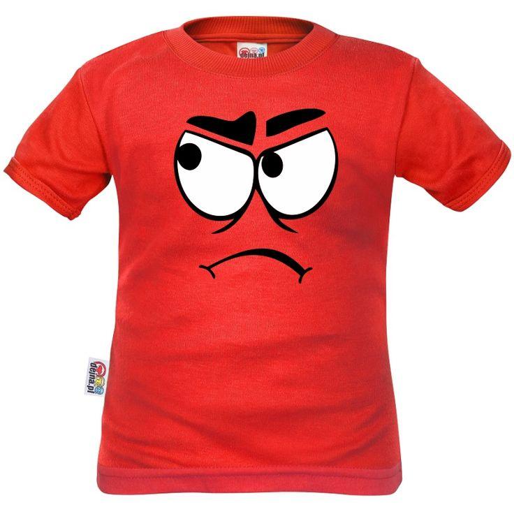 T-shirt enfant rigolo : FRIMOUSSE fâchée