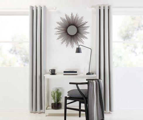 Designers Choice | Eyelet Curtains Grey #curtains