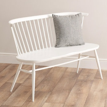 Ercol Love Seat - White from The White Company