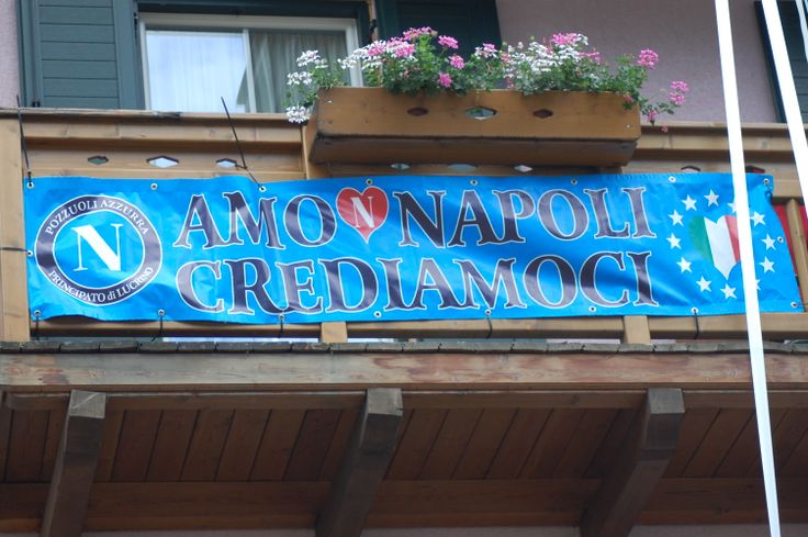 ritiro estivo della squadra del Napoli a Dimaro