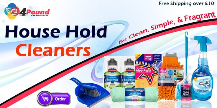 Order best Cleaning products at Our Online store.Get amazing Discounts here Shop Now: http://www.4pound.co.uk/cleaners