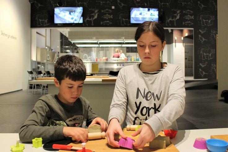 Expozice Gastronomie vpražském Národním zemědělském muzeu spojuje dětskou gastronomickou hernu a gastrostudio, a nabízí tak pohled na jídlo ijeho