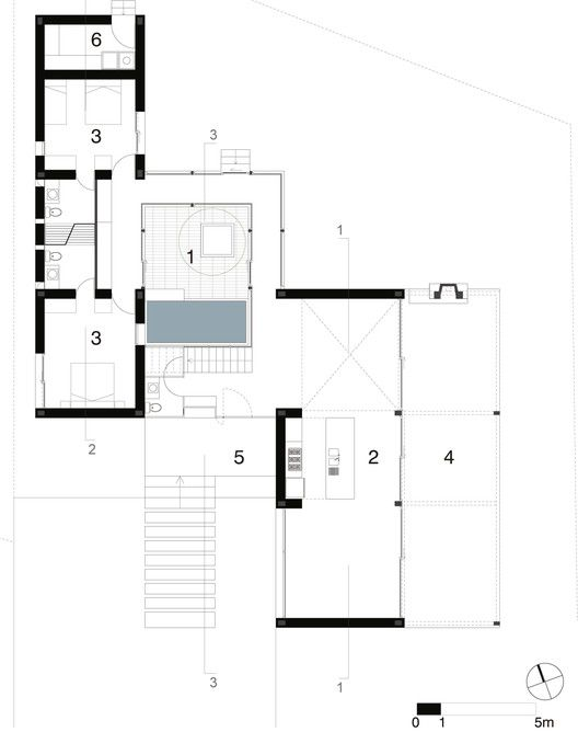 Cotacachi House Ground Floor Plan. 298 best images about Architectural Plans on Pinterest   Home