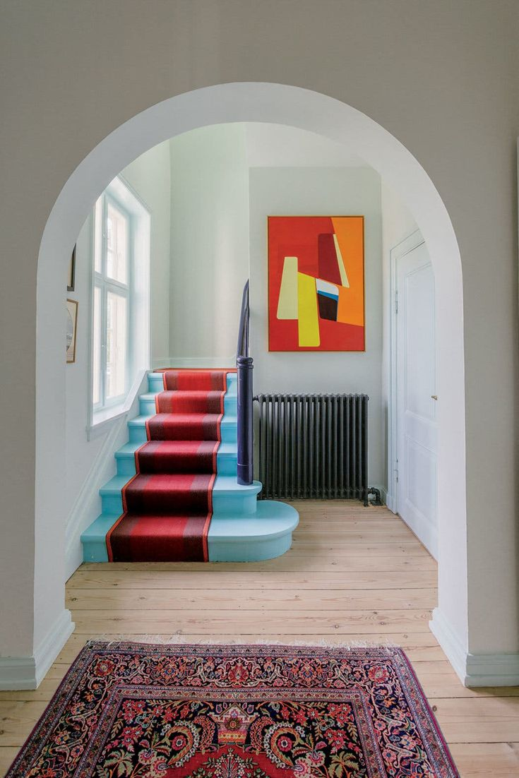 Inside the Designer Nadia Olive Schnack's Colorful Home - The New York Times Decoration Inspiration, Interior Design Inspiration, Home Interior Design, Exterior Design, Interior Architecture, Interior And Exterior, Danish Interior, Exterior Shutters, Colour Inspiration