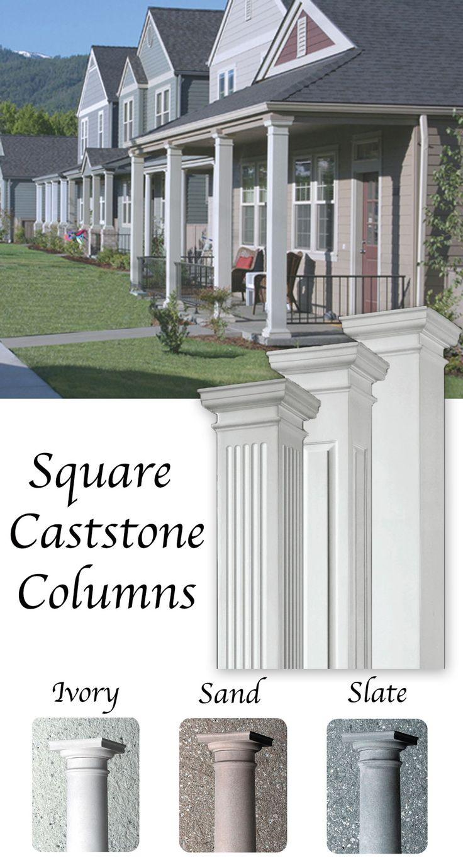 1000 Ideas About Fiberglass Columns On Pinterest Porch