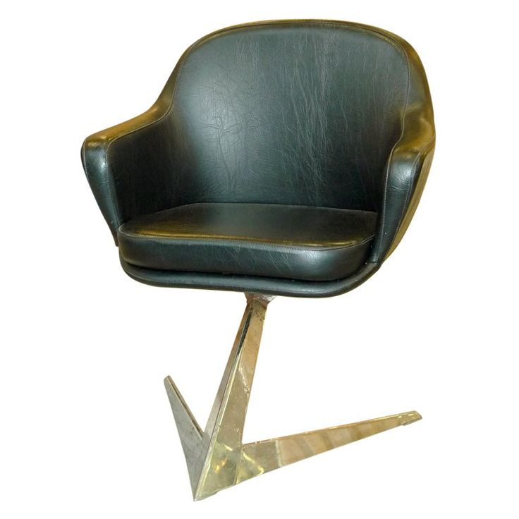 Jacques Adnet for Air France Boardroom Chair | From a unique collection of antique and modern lounge chairs at https://www.1stdibs.com/furniture/seating/lounge-chairs/