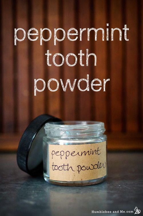Peppermint tooth powder. Love this. Combines whitening ingredients with some stuff i haven't seen in powders before. Great jumping off place for my own recipe. I've got my big ol bag of myrrh resin!