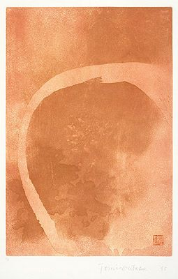 Sem Título 1993 | Tomie Ohtake gravura em metal, c.i.e., C.A 59.40 x 39.60 cm
