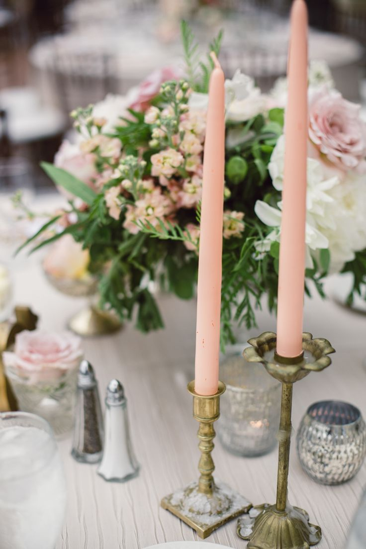 Pink Taper Candles | photography by http://www.andreapatricia.com/