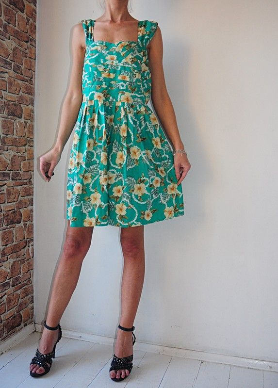 Atmosphere Sukienka W Kwiaty Z Kieszeniami 46 48 Vinted Dresses Summer Dresses Halter Dress