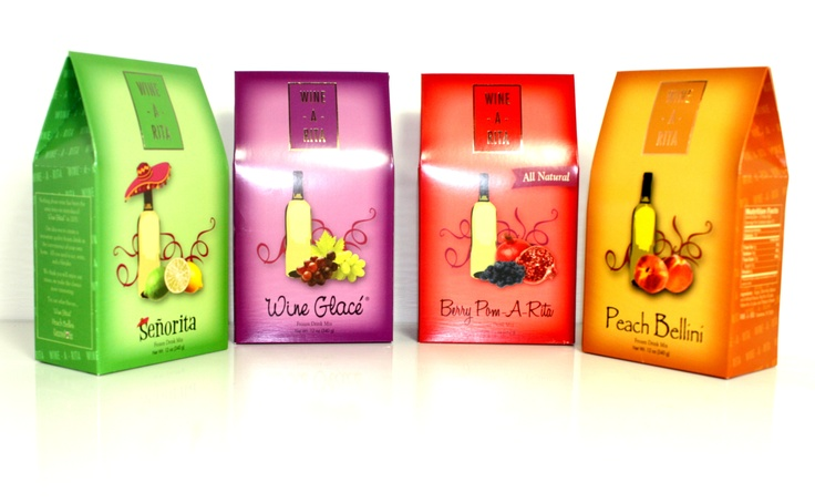 Wine drink mixes make a great hostess gift!
