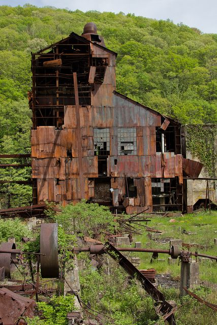 Old Sawmill, Cass Scenic Railroad Photo Freight Special, W. Virginia