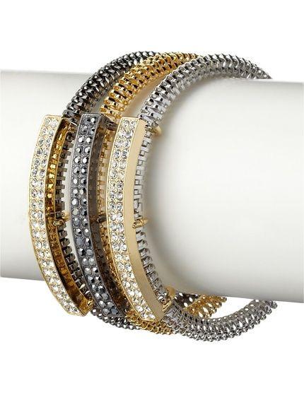 Jules Smith Set of 3 Coil & Pavé Stretch Bracelets, http://www.myhabit.com/redirect/ref=qd_sw_dp_pi_li?url=http%3A%2F%2Fwww.myhabit.com%2Fdp%2FB00JEA53UE