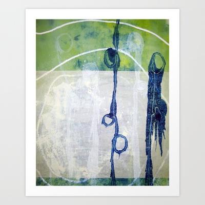 Texture 1 Art Print by Jen Posford - $18.00