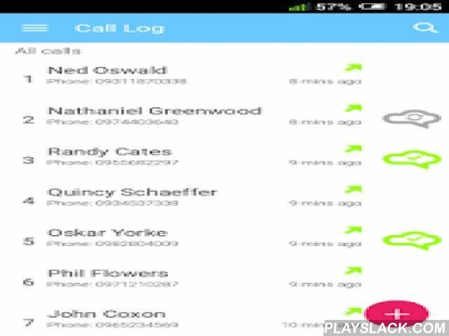 Call Tracker For Salesforce  Android App - playslack.com ,  This app provides ability to quickly add calls to Salesforce directly from your Android mobile phone.Features:- Easily track incoming and outgoing calls as Tasks in Salesforce- Ability to attach calls to the following records in Salesforce: Account, Contact and Lead- Add Voice Notes- Create rules to enable disable automatically call tracking for Contacts- Busy? Add calls later from your Call Log- Track calls offline - pending…