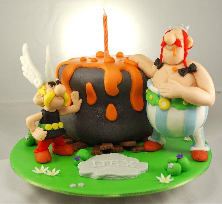 ❤ Asterix & Obelix cake