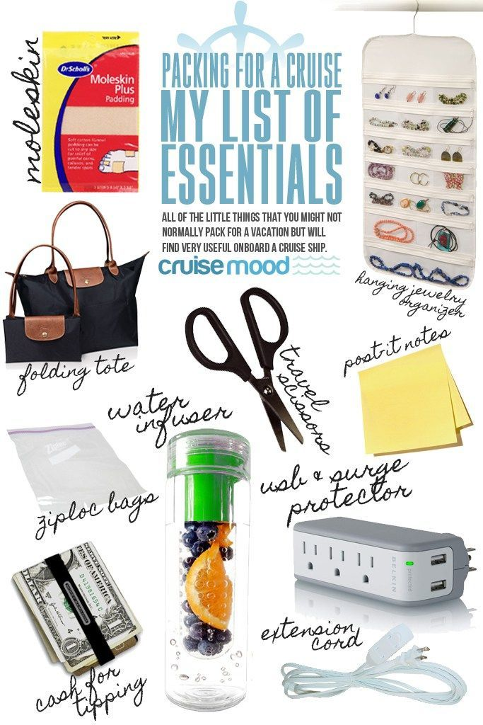 What to Pack for a Cruise: My List of Essentials | Cruise Mood