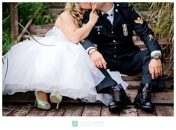 Mariage Militaire / Military Wedding –  By Genevieve Albert Photographe